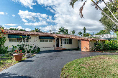 Delray Beach Single Family Home For Sale: 12 NW 18th Street