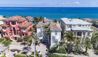 Broward County, Palm Beach County Rental For Rent: 7 Ocean Place