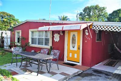 Lake Worth Single Family Home For Sale: 3225 French Avenue