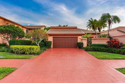 Boca Raton Single Family Home For Sale: 6398 Via Rosa