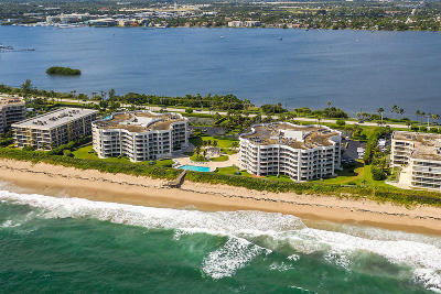 Palm Beach Condo For Sale: 3360 S Ocean Boulevard #1