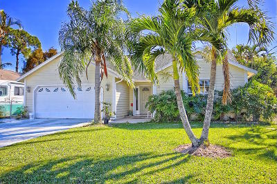 Jupiter Single Family Home For Sale: 6322 Drake Street