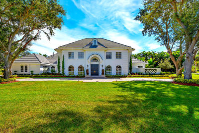 Palm Beach Gardens Single Family Home Contingent: 8725 Native Dancer Road