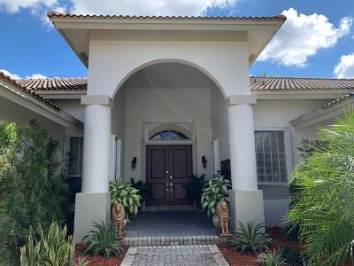 Coral Springs Single Family Home For Sale: 1841 Eagle Trace Boulevard