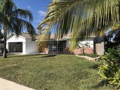 Boca Raton Single Family Home For Sale: 1369 SW 13th Street