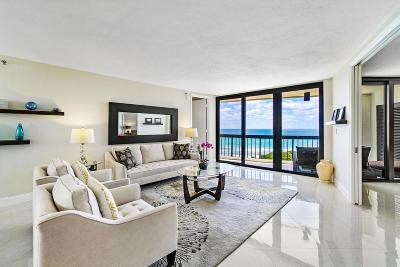 Palm Beach County Condo For Sale: 4545 Ocean Boulevard #8a