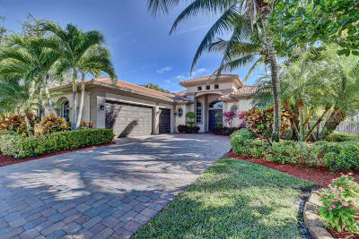West Palm Beach Single Family Home For Sale: 770 Montclaire Court