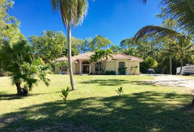West Palm Beach Single Family Home For Sale: 4872 123rd Trail