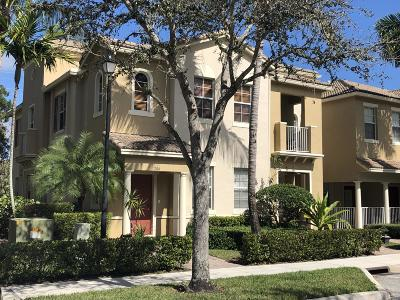 Jupiter Townhouse For Sale: 135 Seagrape Drive #204