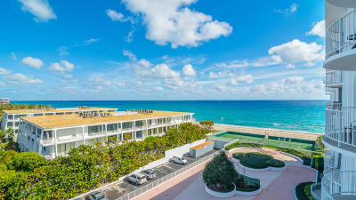 Palm Beach Condo For Sale: 2295 S Ocean Boulevard #721