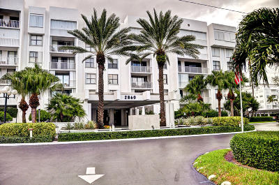Palm Beach Condo For Sale: 2860 S Ocean Boulevard #316
