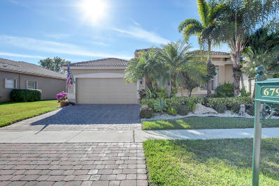 Lake Worth Single Family Home For Sale: 6793 Pisano Drive