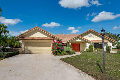 Boca Raton Single Family Home For Sale: 7945 Shelby Circle
