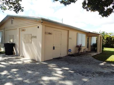 Lake Worth Single Family Home For Sale: 2701 10th Avenue