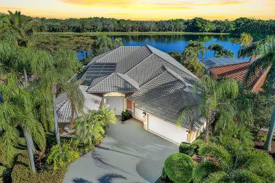 West Palm Beach Single Family Home Contingent: 8909 Lakes Boulevard