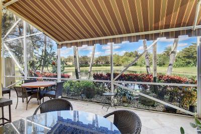 Delray Beach Single Family Home Contingent: 15542 Fiorenza Circle