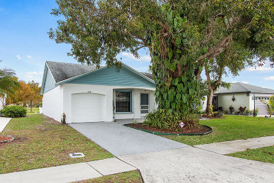 Lake Worth Single Family Home For Sale: 5109 Arbor Glen Circle