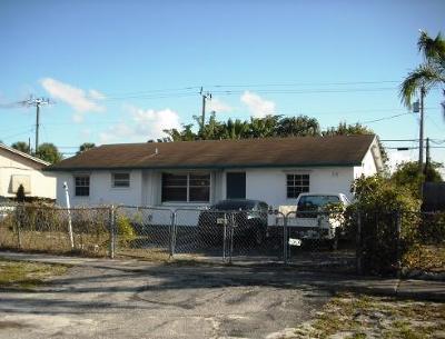 Boynton Beach Single Family Home For Sale: 370 Miner Road