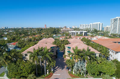 Palm Beach County Townhouse For Sale: 921 Osceola Drive #4
