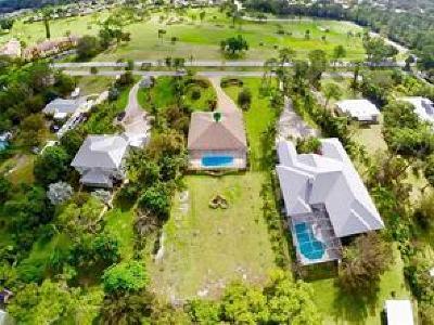 Stuart Single Family Home For Sale: 5201 SE Great Pocket Trail