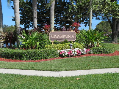 Boca Raton Single Family Home For Sale: 8085 Whispering Palm Drive #A