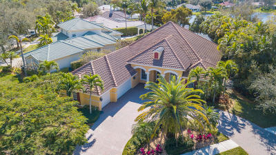 Jupiter Single Family Home Contingent: 6768 Cypress Cove Circle