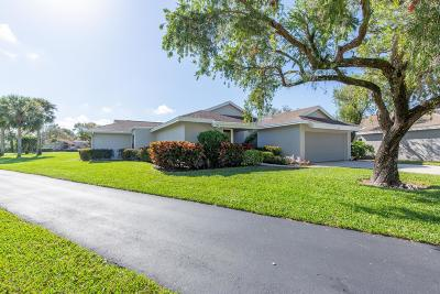West Palm Beach Single Family Home For Sale: 6746 Touchstone Circle