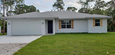 West Palm Beach Single Family Home For Sale: 12144 62 Lane