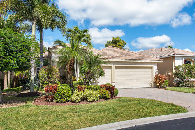 Lake Worth Single Family Home For Sale: 10535 Laurel Estates Lane