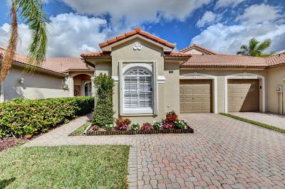 Boca Raton Single Family Home For Sale: 8417 Via Leonessa