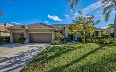 Jupiter Single Family Home For Sale: 6780 Cypress Cove Circle