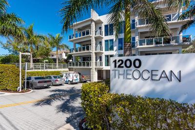Hillsboro Beach Condo For Sale: 1200 Hillsboro Mile #1101