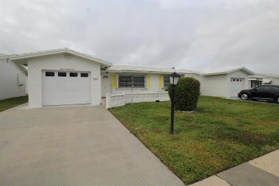 Boynton Beach Single Family Home For Sale: 721 SW 18th Street