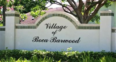 Boca Raton Single Family Home For Sale: 8930 SW 21st Court #B