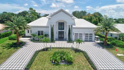 Boynton Beach Single Family Home For Sale: 11938 Lake Drive