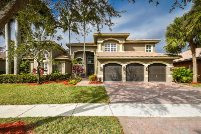 Boca Raton Single Family Home For Sale: 11827 Bayfield Drive