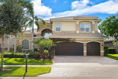 Boynton Beach Single Family Home For Sale: 11789 Fox Hill Circle