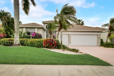 Boynton Beach Single Family Home For Sale: 11597 Privado Way
