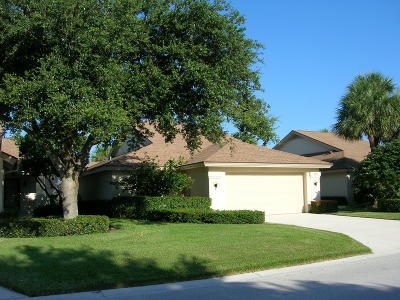 Jupiter Single Family Home For Sale: 220 River Park Drive