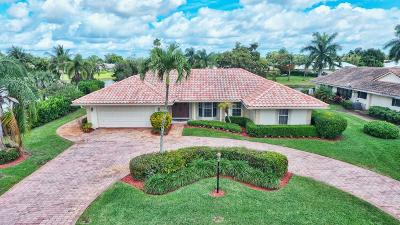 Boynton Beach Single Family Home For Sale: 4730 S Lake Drive
