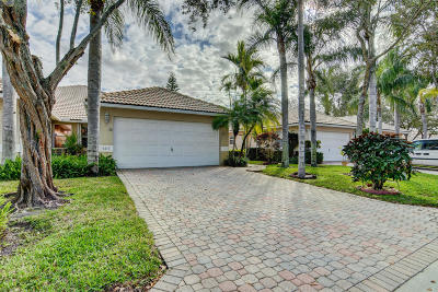 Delray Beach Single Family Home Contingent: 5219 Grande Palm Circle
