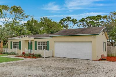 Delray Beach Single Family Home For Sale: 5054 Woodland Drive