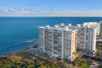 Palm Beach County Condo For Sale: 1180 S Ocean Boulevard #Ph-E