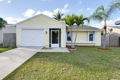 Jupiter Single Family Home Sold: 120 Timberline Drive