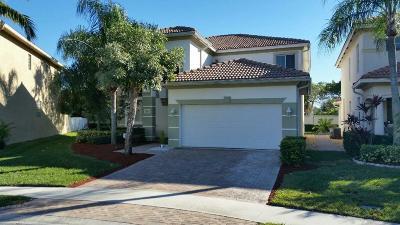 West Palm Beach Single Family Home For Sale: 391 Gazetta Way