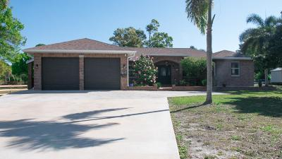Fort Pierce Single Family Home For Sale: 3120 Rogers Road