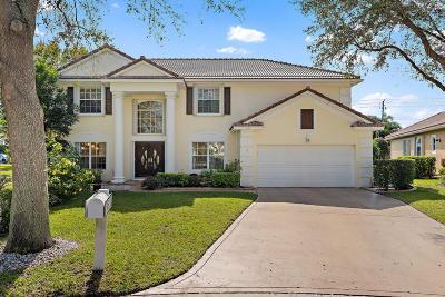 Jupiter Single Family Home For Sale: 505 S Pheasant Lane