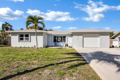 Lake Worth Single Family Home For Sale: 2717 Cambridge Road