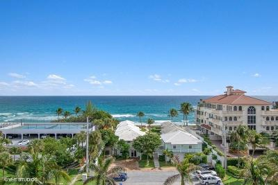 Highland Beach Condo For Sale: 3450 S Ocean Boulevard #701