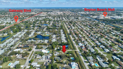 Boynton Beach Residential Lots & Land For Sale: 3865 Aladdin Avenue